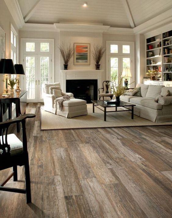 flooring ideas desert haze color floor for white living room PZUUZVQ