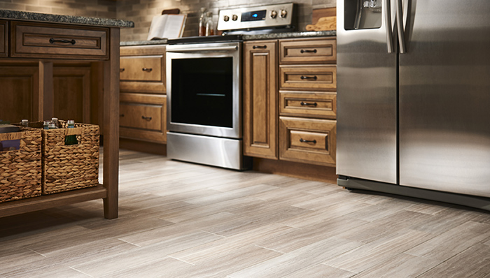 flooring ideas vinyl wood-look flooring comes in many colors and forms such as planks, COQKVIU