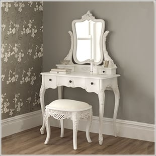 French bedroom furniture dressing tables u0026 stools LGTADUZ