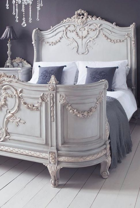 French bedroom furniture french provincial bed CRLQJKU