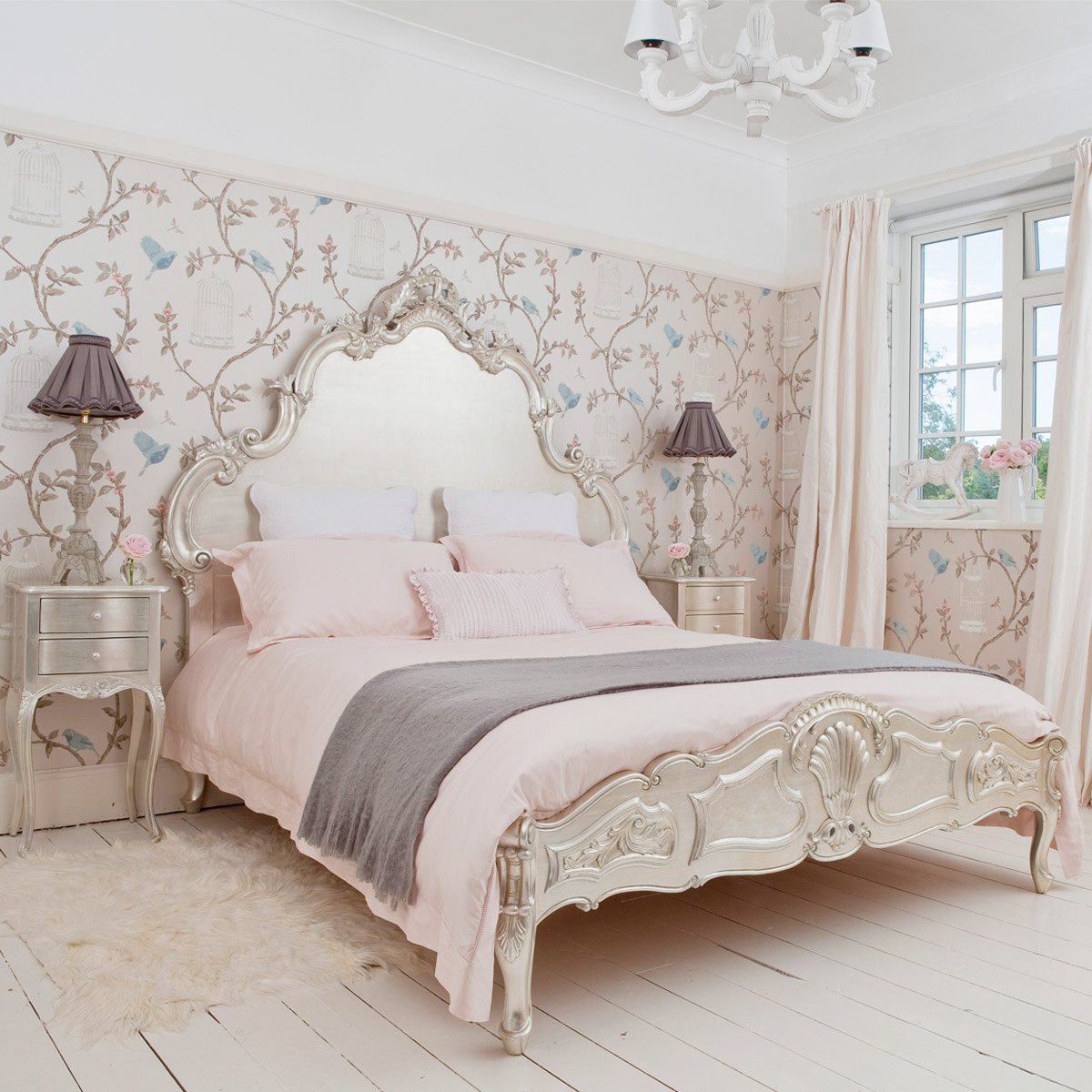 French bedroom furniture image of: french bedroom decor BIAFUSV