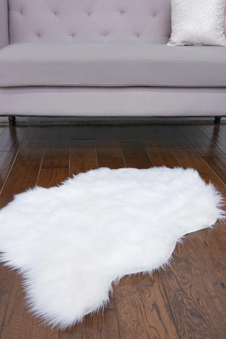 Fur rug faux fur rug UOLSAOJ
