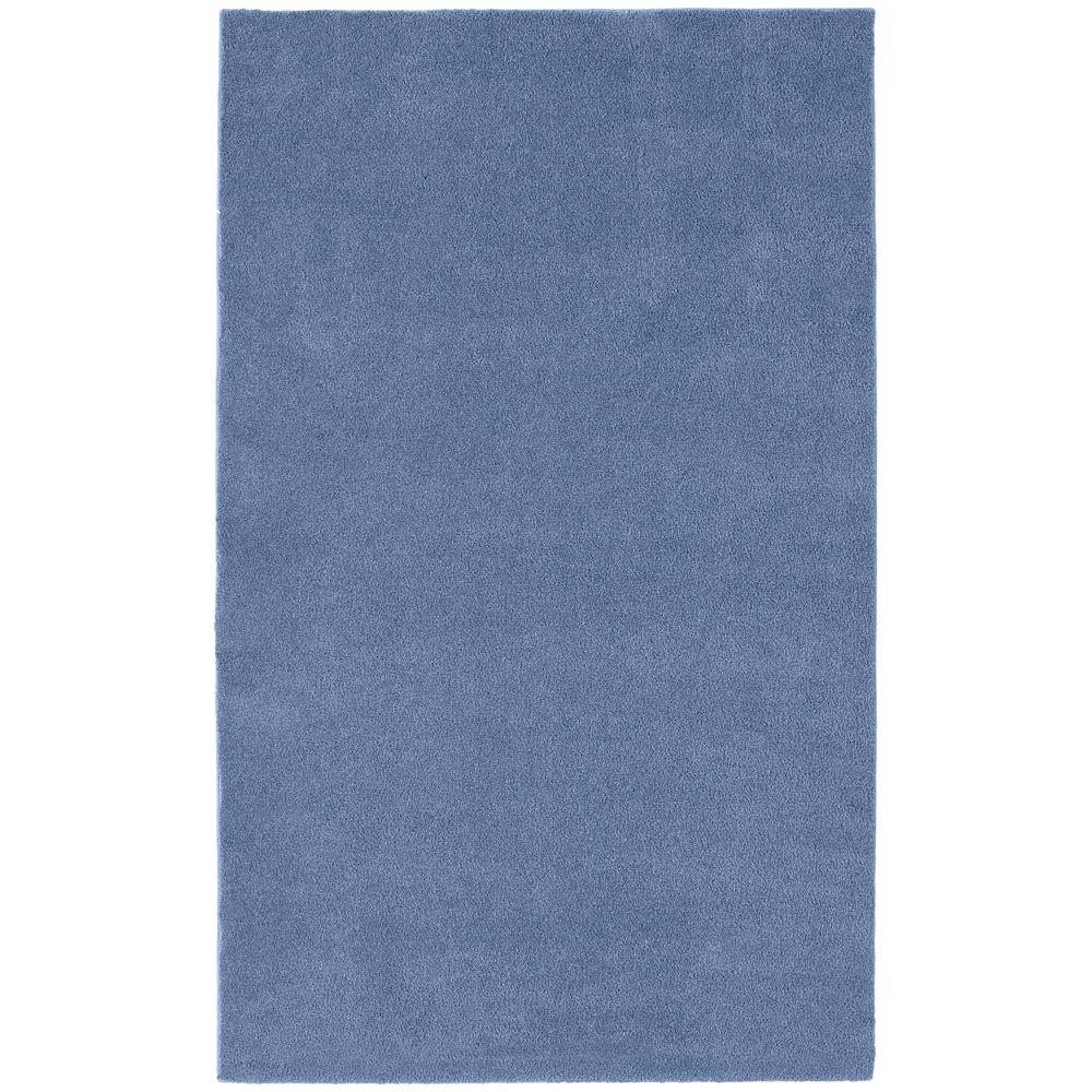 garland rug washable room size bathroom carpet basin blue 5 ft. x 8 EVYVFCM