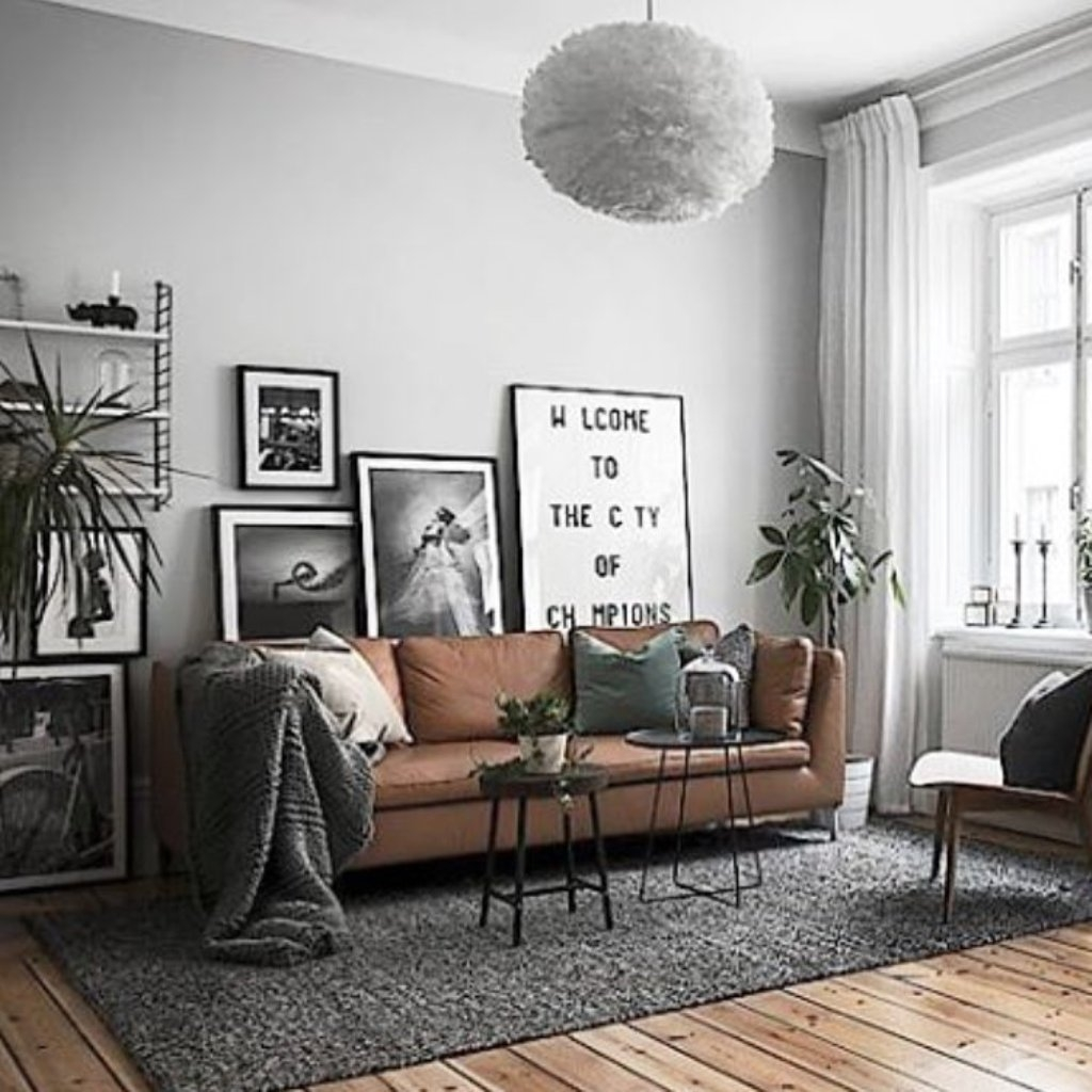 grey rug with brown couch brown sofa set with vintage painting and grey floor rug for impressive grey YXUDTBC