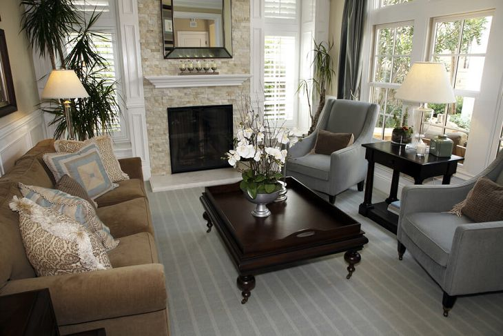grey rug with brown couch wonderful brown and grey living room brown sofa white grey stripes rug dark FXQVTSE