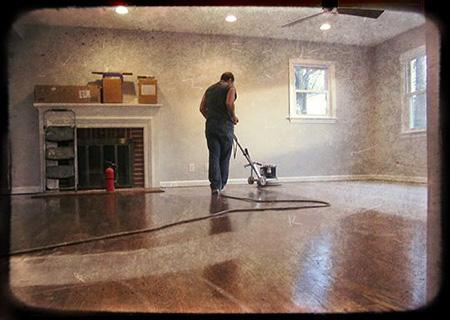 hardwood floor refinishing project in progress LBHGUJA