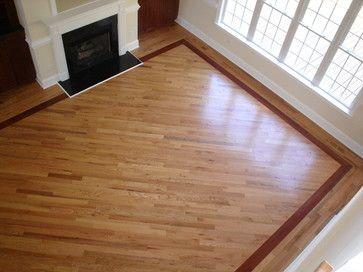 hardwood flooring designs hardwood floors with borders design ideas, pictures, remodel, and decor VZVIAAH