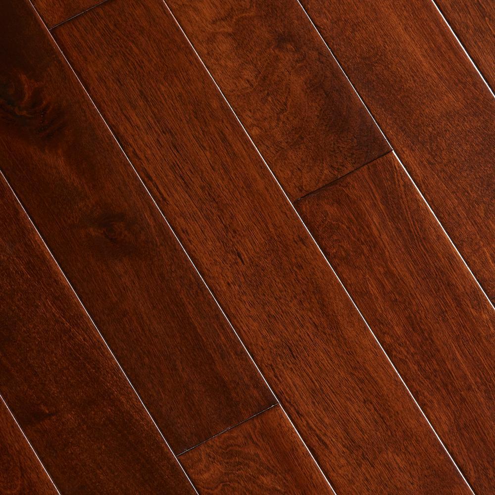 hardwood flooring home legend hand scraped maple saddle 1/2 in. t x 3-1 LNTDRGF