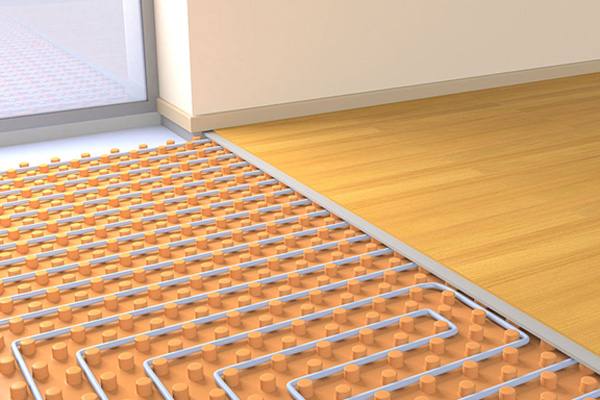 heated floors in-floor heating XIIOWLF