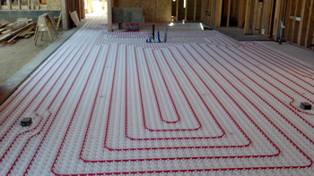 heated floors radiant floor heat is simply the best heat source RCYHBPU