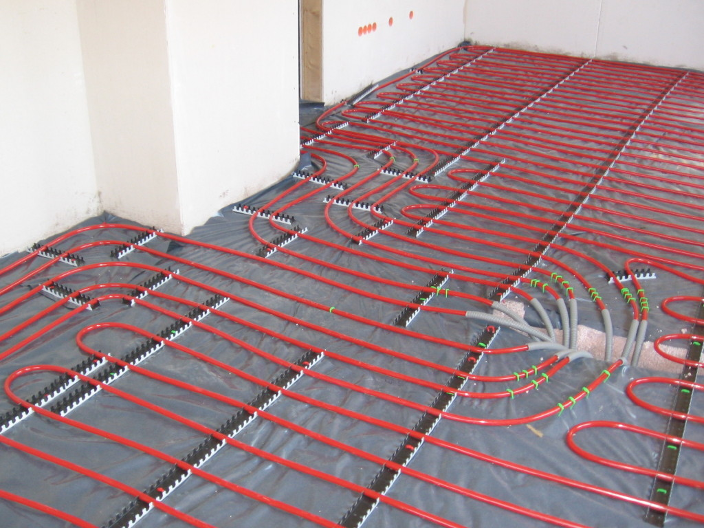 heated floors radiant underfloor heating via @macwoods LCJFIZB