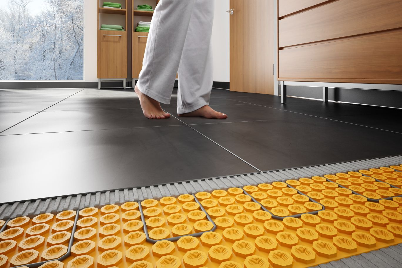 heated floors schluter®-ditra-heat ZLVKVCH