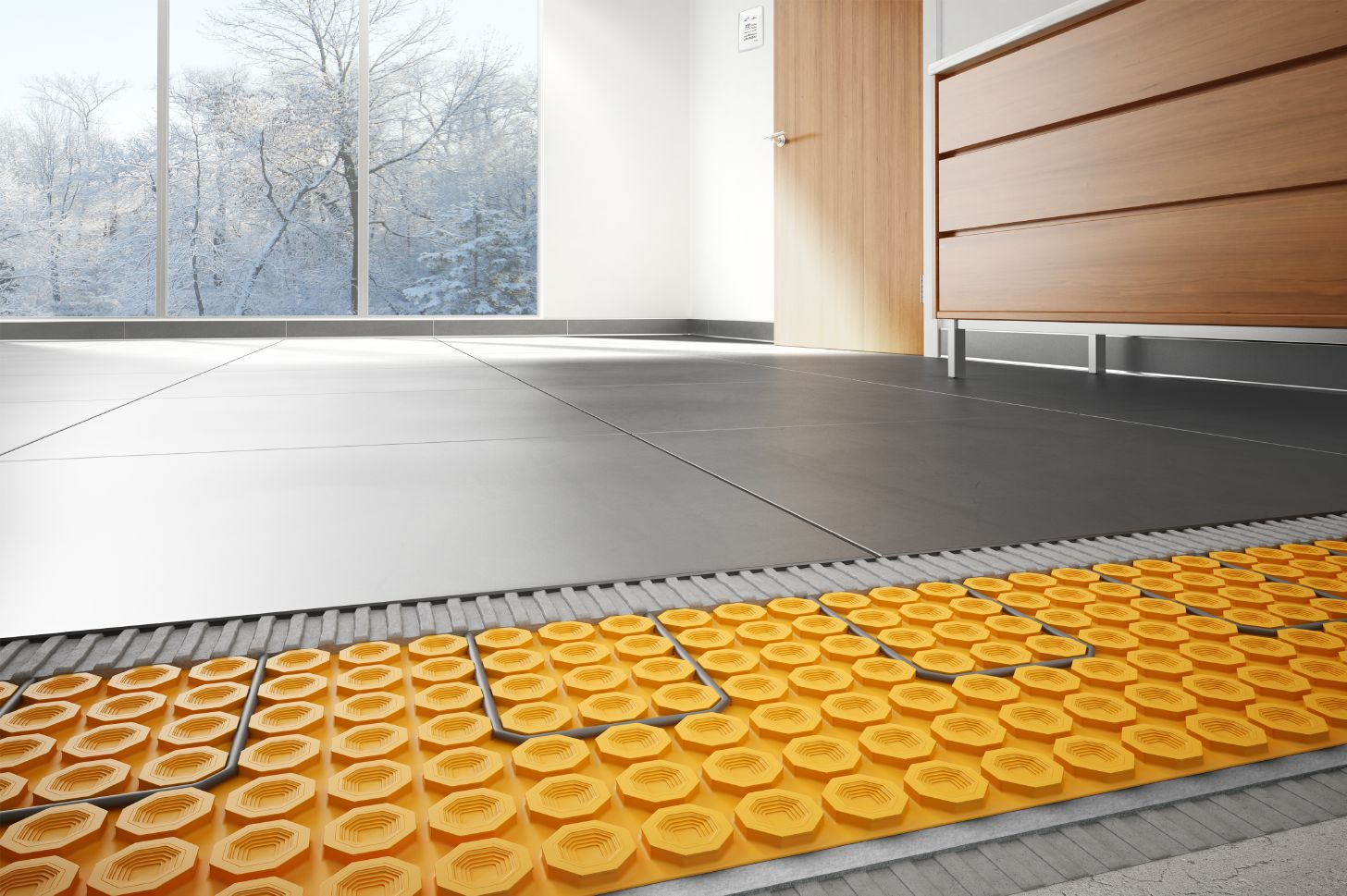 heated floors | schluter.com SQJSZHK