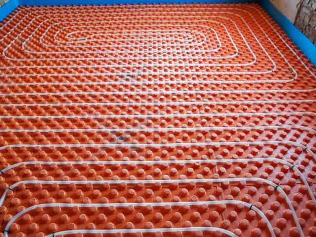 heated floors underfloor heating ZVRNUEJ