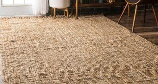 jute rug havenside home caladesi handmade braided natural jute reversible area rug -  4u0027 JZWHIHH