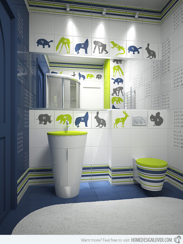 Kids Bathroom green kids bathroom RZNXGDH