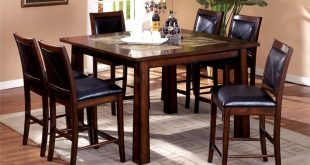 Kitchen and Dining Room Tables home and furniture: adorable tall dining table on amazing of room tables VMDENYP