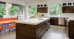 kitchen floors kitchen in new luxury home BDAVWYE