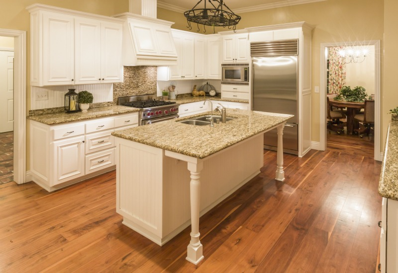 kitchen floors pros and cons of kitchens with wood floors SZMDEXP