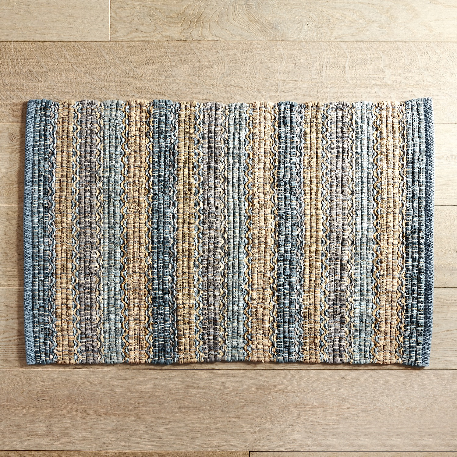 kitchen rugs tuscany striped blue 2x3 rug XTQBNAT