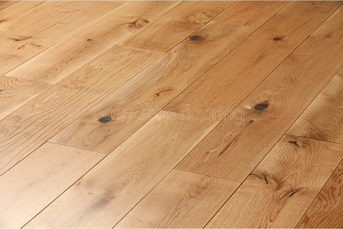 lacquered finish solid oak flooring - wood flooring @easystepflooring TUKZSJA