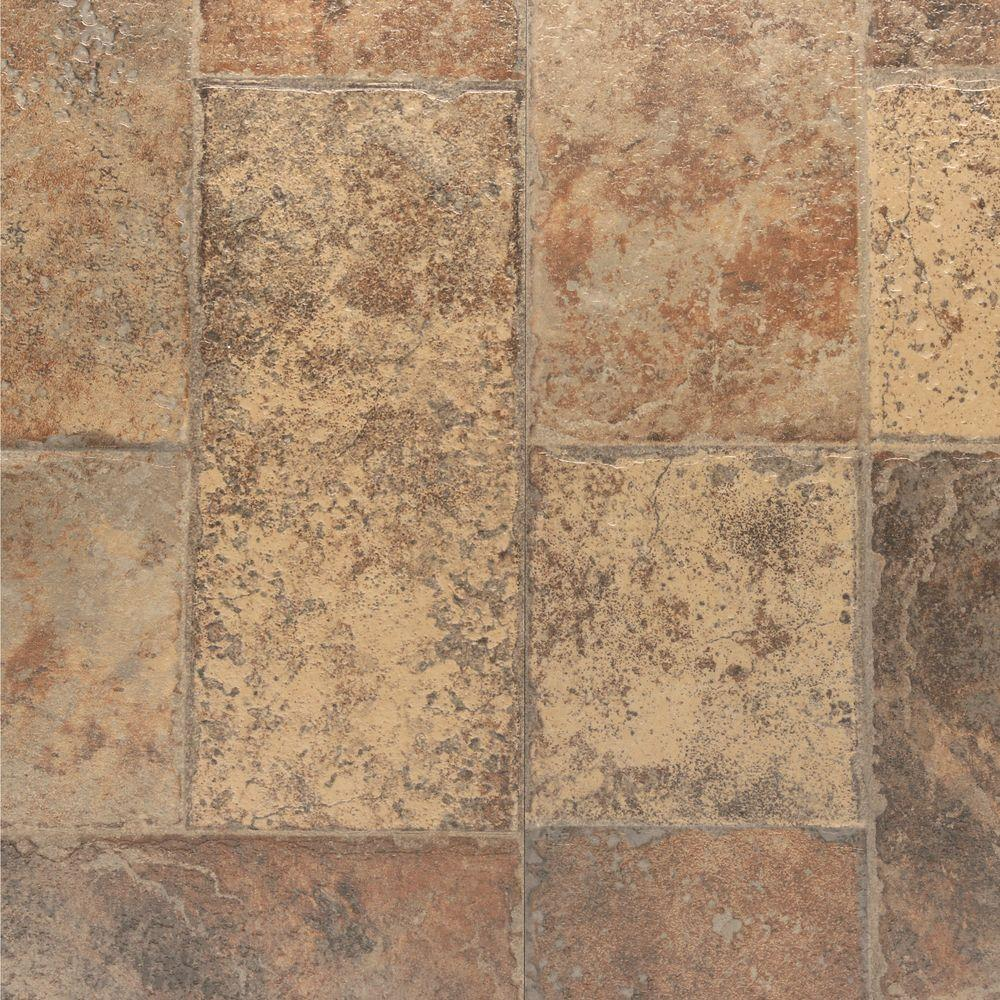 laminate floor tiles bruce aged terracotta 8 mm thick x 15.94 in. wide x 47.76 in. HHDGWLE