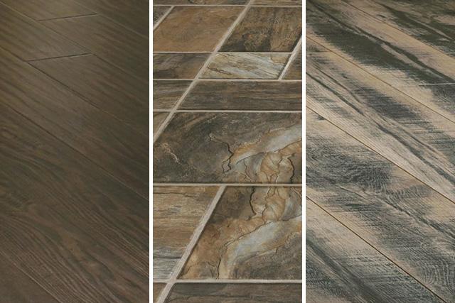 laminate floor tiles various laminate floors in wood and stone designs CBMQTNO