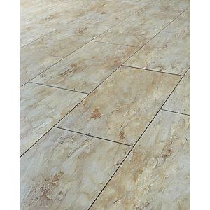 laminate floor tiles wickes indian slate tile effect laminate flooring - 2.5m2 pack XPLOZAL