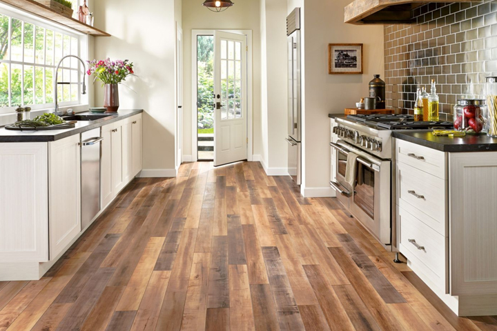 laminate flooring wood look laminate in the kitchen - l6625 global reclaim laminate - worldy RCXUFJL
