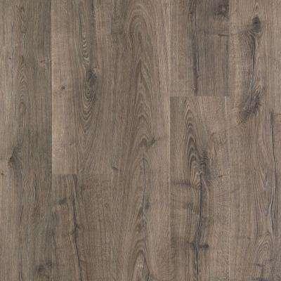 Laminate hardwood flooring outlast+ vintage pewter oak 10 mm thick x 7-1/2 in. wide JBSYJCT