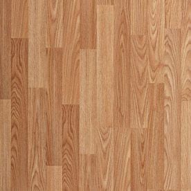 laminated wood flooring project source natural oak 8.05-in w x 3.96-ft l smooth wood plank GYVJSSA