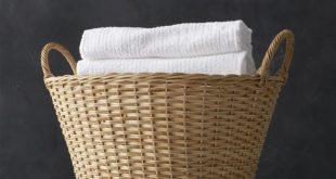 Laundry Basket wicker laundry basket + reviews | crate and barrel IYXCVXT