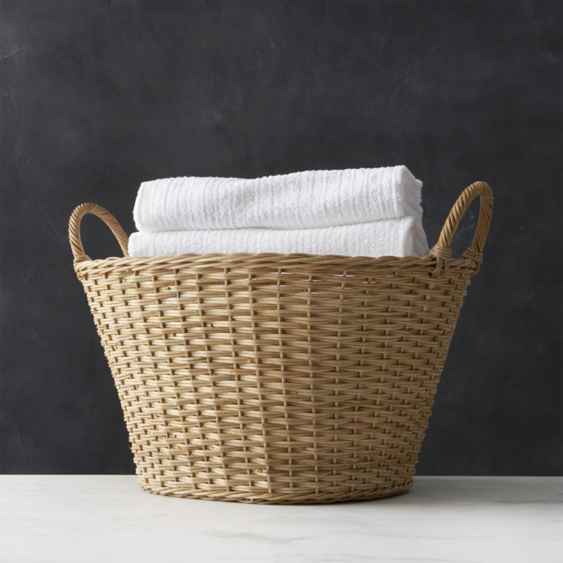 Sort Out Your Laundry Neatly in a Laundry Basket