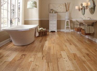 light hardwood floors virginia mill works matterhorn birch handscraped - wood flooring - by  lumber PFBFJHZ
