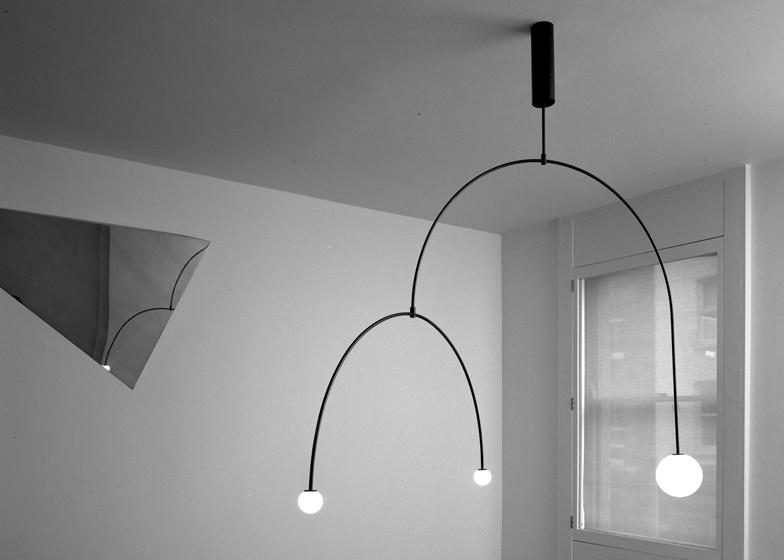 Lighting Designs michael anastassiades creates minimal lighting designs from glowing spheres TDGOVKV