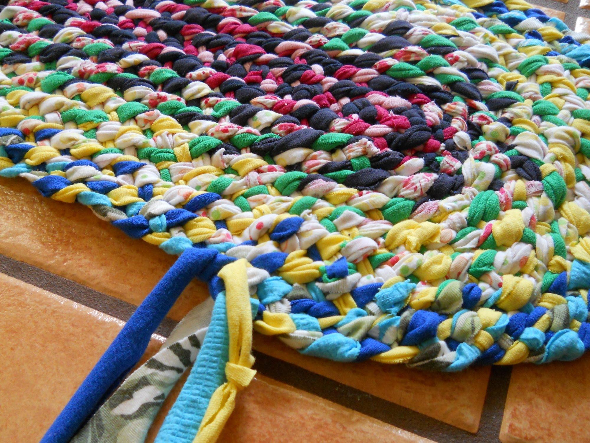 lost art of braid-in rag rugs part 3 RVEQTEU