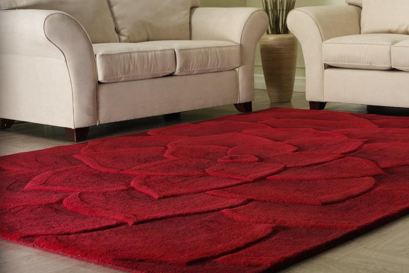 modern area rugs beautiful red floral contemporary area rug all about rugs in modern within MSSCYNE