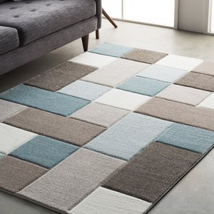 modern area rugs mott street modern geometric carved teal/brown area rug OSDCPKJ