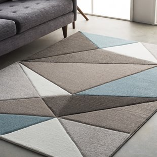 modern area rugs mott street modern geometric carved teal/gray area rug QFIKJXD