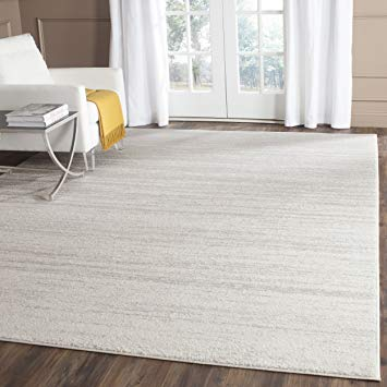 modern area rugs safavieh adirondack collection adr113b ivory and silver modern area rug (9u0027  x FYVXOPO
