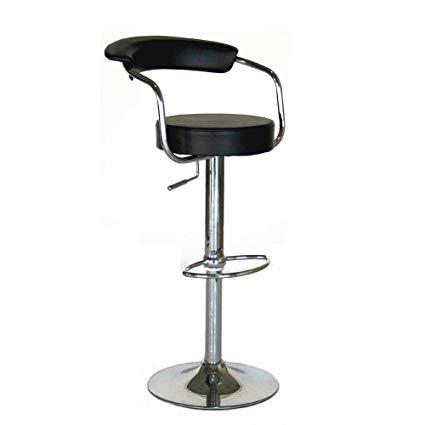 modern contemporary adjustable bar stools, set of 2 KPNIKNR