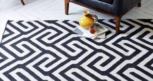 monochrome black and white rugs IICUXJF