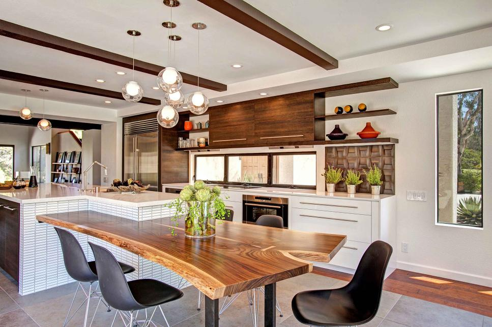 Nature Kitchens contemporary kitchen with a touch of nature | jackson design and remodeling PQBEVDZ