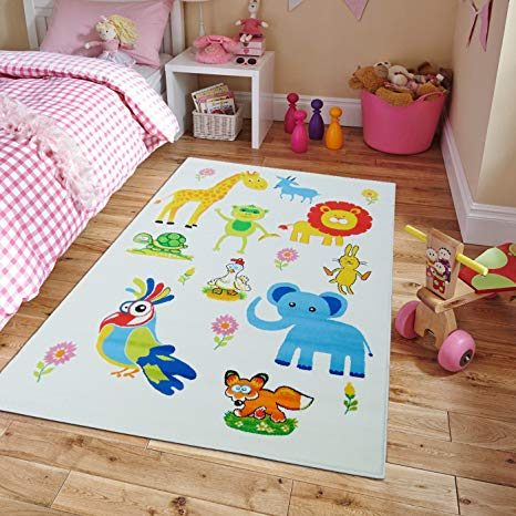 new kids rugs zoo animal names practice educational rug for classroom u0026 LOUZKNZ