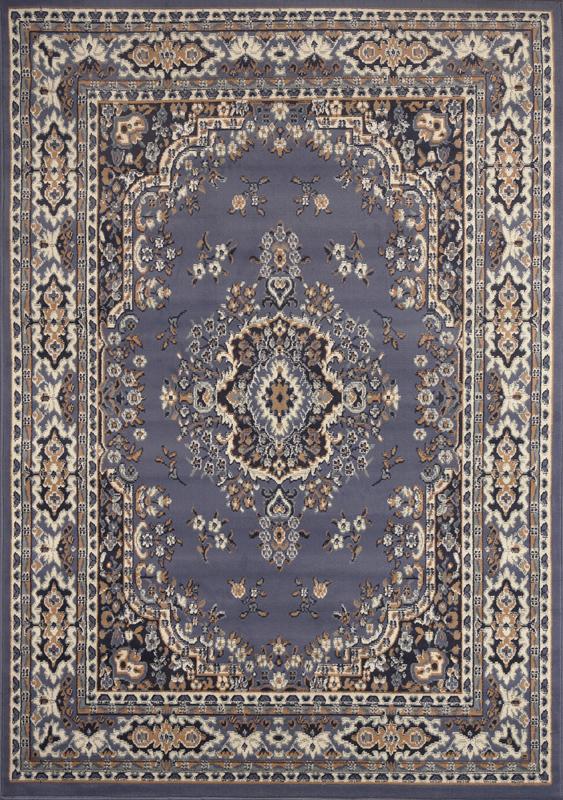 Oriental rugs persian blue area rug 8 x 11 large oriental carpet 69 - actual ZOOMVUE