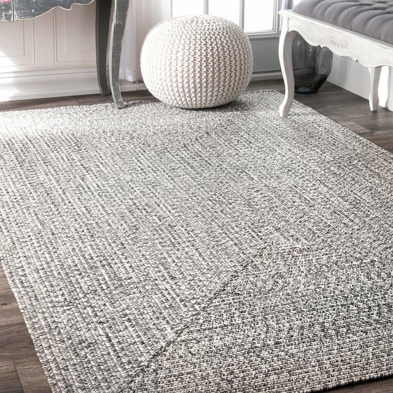 outdoor area rugs kulpmont gray indoor/outdoor area rug AQUYJVS