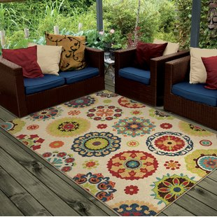 Outdoor rug maen neutral cream indoor/outdoor area rug VSQTNEI