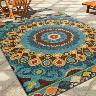 Outdoor rug the curated nomad pacheco indoor/ outdoor retro area rug - 5u00272 ... QMHEBSK
