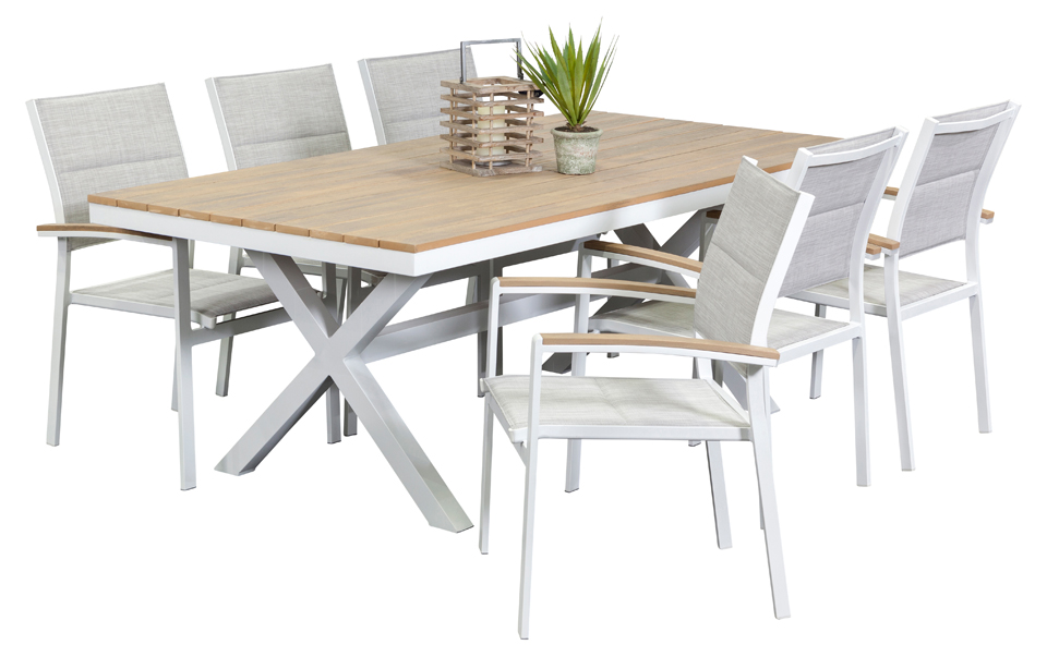 Outdoor Settings granada 6 seater, outdoor dining furniture, outdoor dining settings, outdoor  dining table YTRUNIT