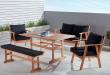 Outdoor Settings princeton 5 piece low dining setting opri5plowk 1 RLTXVNC